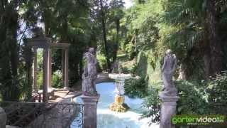 #1279 Parco Scherrer Morcote - Renaissancebrunnen und Aussichtsterrasse
