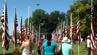 Caldwell (ID) United States  city pictures gallery : pt12 the 4th of july parade in caldwell idaho. us flags with war dead pictures on them