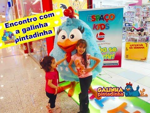 Maquiagem - ENCONTRO COM A GALINHA PINTADINHA E DANCINHA COM VIVI E LILLI KIDS