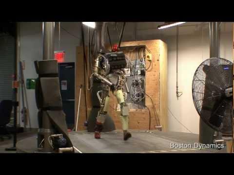 Asker robot göreve hazır