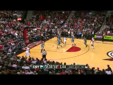 New Orleans Hornets 74 – Portland Trail Blazers 86