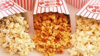 Microwave Popcorn Made in a Paper Bag (inclu. Caramel Corn!) Gemma's Bigger Bolder Baking 110 by Gemma's Bigger Bolder Baking