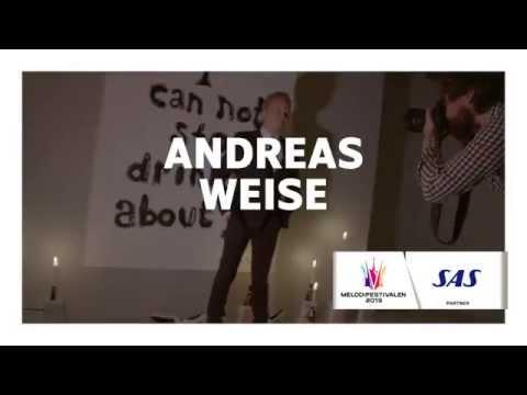 Andreas Weise inför Melodifestivalen