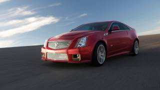 2012 Cadillac CTS-V Coupe - Drive Time Review With Steve Hammes