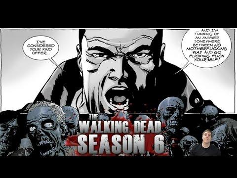 The Walking Dead Season 6 Finale  - How Will Amc Handle Negan's Swearing?