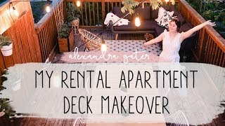 Video APARTMENT DECK MAKEOVER | OUTDOOR OASIS IN THE TREES | MY RENTAL RENO S1 E6 MP3, 3GP, MP4, WEBM, AVI, FLV Juli 2019