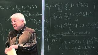 METU - Quantum Mechanics II - Week 6 - Lecture 2