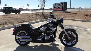 1. 020762   2016 Harley Davidson Softail Fat Boy Lo   FLSTFB - Used motorcycles for sale