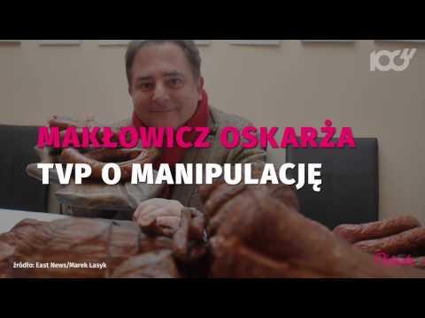 Robert Makłowicz oskarżył TVP o manipulację