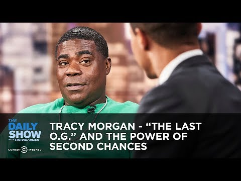 """Tracy Morgan - """"The Last O.G."""" and the Power of Second Chances   The Daily Show"""