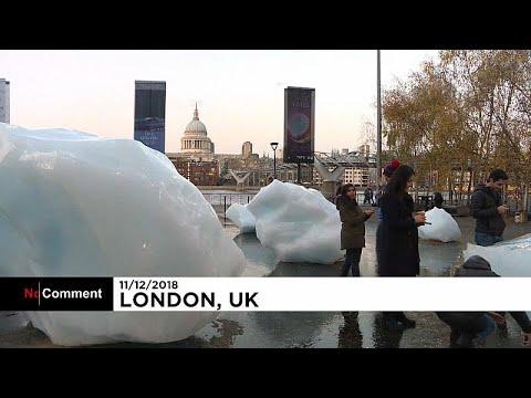 Λονδίνο: Τριάντα πελώρια κομμάτια πάγου μπροστά από την Tate…