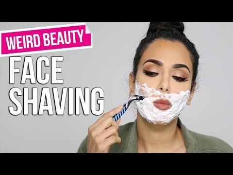 Shaving Her Face... WHAT?!