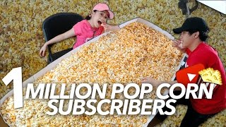 Video ONE MILLION POP CORN SUBSCRIBERS PARTY | Ranz and Niana MP3, 3GP, MP4, WEBM, AVI, FLV November 2018