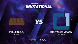 Comanche vs Digital Company, Game 1, SL i-League Invitational S2, EU Qualifier