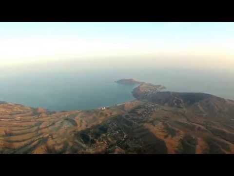 Название Видео - Феодосия и Орджоникидзе с высоты 1000 метров