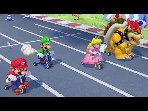 Super Mario Party - All Sports Minigames