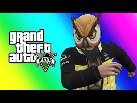 Gta 5 Online Funny Moments - Flying Cars, Ramp Cars, And Rocket Cars!