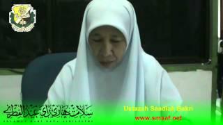 SMAAF : Salam Aidilfitri - Ustazah Saadiah Bakri