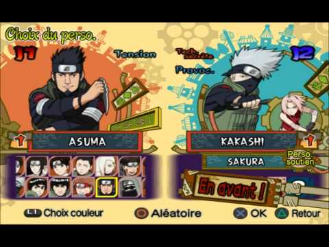 cheat naruto shippuden ultimate ninja 5 playstation 2