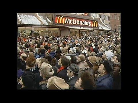 Erster McDonald's öffnet vor 30 Jahren in Moskau