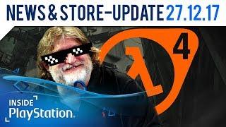 Alles Quatsch: Beknackte Fake News zum Jahresende! | Inside PlayStation News & Store-Update Prank