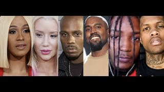Cardi B Money and Iggy Azalea Sally Walker THE SAME, Lil Durk Lil Mister, DMX Kanye West Sunday