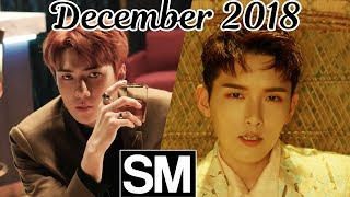 Video [TOP 100] Most Viewed SM Kpop MVs [December 2018] MP3, 3GP, MP4, WEBM, AVI, FLV Desember 2018