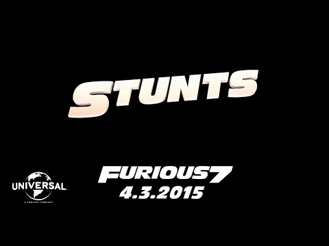 Furious 7 (Road to Furious 7 'Stunts')
