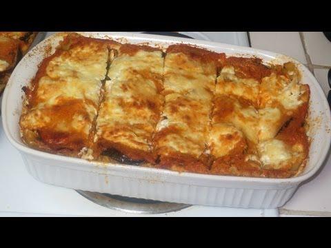 Como hacer una Lasagna vegetariana - vegetarian Lasagna
