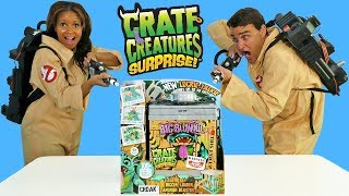 Video Ghostbusters Find Giant Crate Creature in Haunted House ! || Toy Review || Konas2002 MP3, 3GP, MP4, WEBM, AVI, FLV November 2018