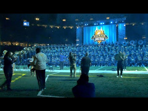 Outstanding By The Gap Band | SU Human Jukebox | Bayou Classic BOTB 2017 | 4K