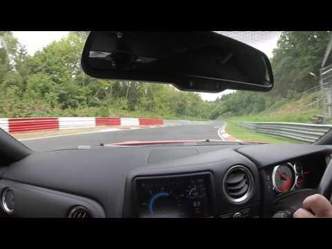Nissan GTR Nurburgring 11/09/2016 8min 3 second lap