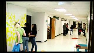 """Life In Color"" - Zion Central Middle School Time Lapse"