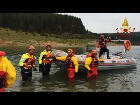 Protezione in ambiente acquatico, formati 10 vigili del fuoco