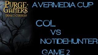 coL vs NoTidehunter g2 Avermedia Cup w/ CatZ