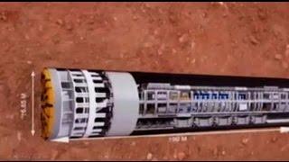 Video 4 Mesin Bor Super Canggih Buat Jalur Terowongan MRT - VIDEO BERITA TERKINI MP3, 3GP, MP4, WEBM, AVI, FLV Juli 2017