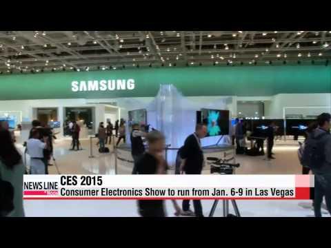 Korea′s tech giants gear up for CES 2015   세계최대 가전 전시회 CES 2015 6일 미국서 개막