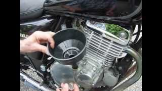 4. How to change the oil and filter on your motorcycle