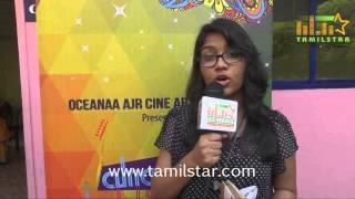 Radhika George at Vaanavil Vaazhkai Movie Press Meet