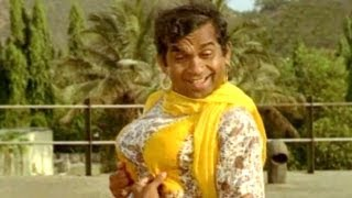 Swamiji Making Pambalakadi Jamba - Comedy Kings - Naresh, Aamani, Brahmanandam
