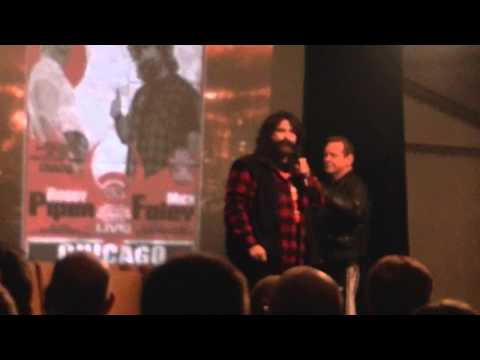 Mick Foley IMMPRESSION with Mick Foley WWE
