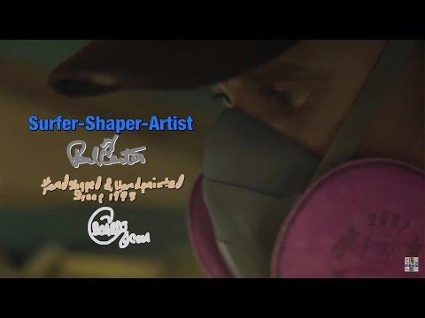 Hand Shaped Surfboards by Surfer Shaper Artist Journey Paul Carter