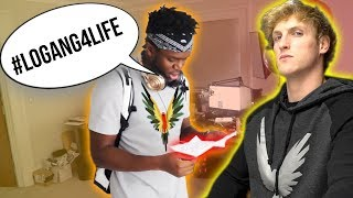 KSI RECEIVED HIS MAVERICK MERCH AND HE'S IN THE LOGANG!