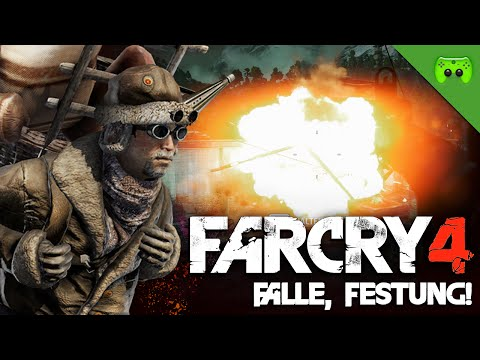 FAR CRY 4 # 35  - Falle, Festung! «» Let's Play Far Cry 4 | HD 60 FPS Gameplay