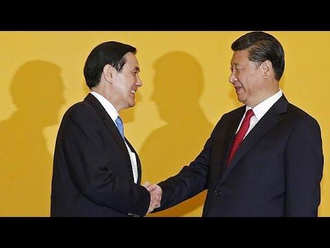 Ιστορική συνάντηση των ηγετών Κίνας – Ταϊβάν στην Σιγκαπούρη