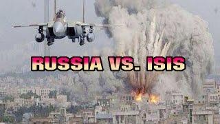 Russia attack ISIS - Russia vs. ISIS - Russian airtrikes in Syria - Iraq war - Kurds - ISIS - Sinjar battle - Kobane battle - Kobani...