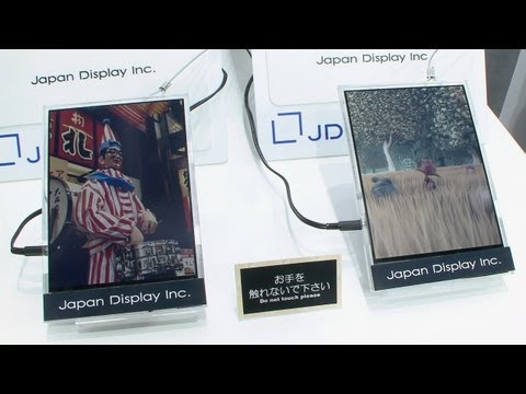 New LCD displays with paper-like visibility