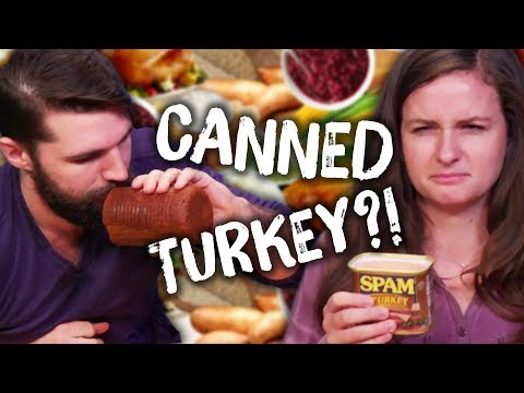Thanksgiving in a Can CHALLENGE! (Cheat Day)