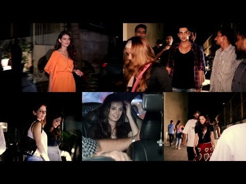 Zayed Khan | Sussanne Khan | Mandana Karimi | Evelyn sharma Spotted Su Casa Bar
