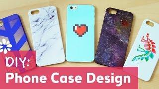 DIY Phone Case Design - YouTube
